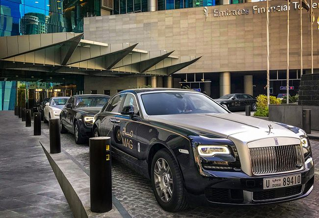 MAG Group - Rolls-Royce Ghost luxury sedan