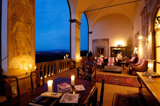 Villa Mangiacane - Tuscany, Italy
