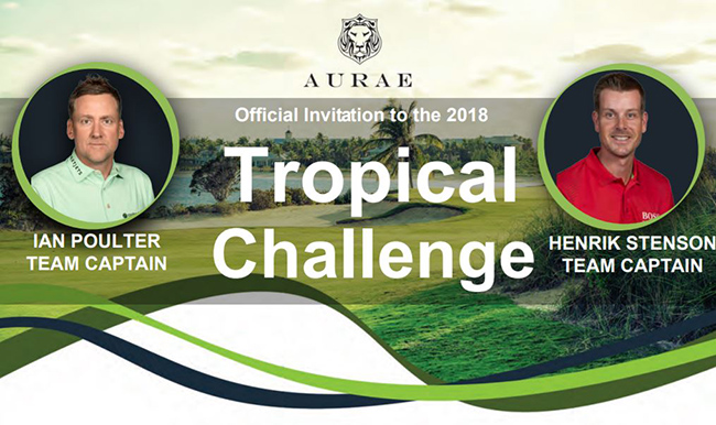2018 Tropical Challenge - VIP golf experience