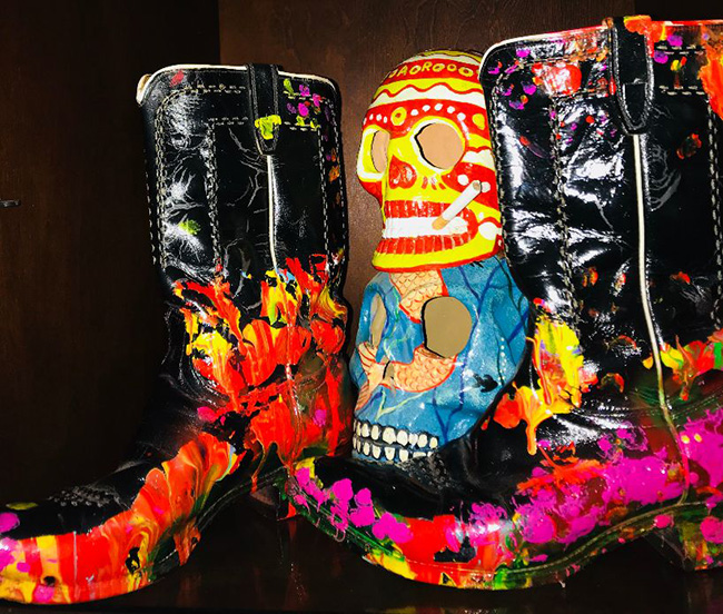 Cosmic Cowboy Boots - world's most expensive boots by Jack Armstrong - $6 million