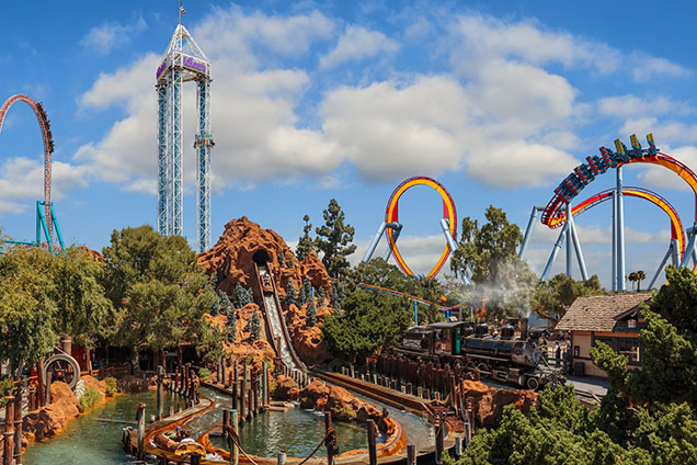 Knott's Berry Farm - Buena Park theme park