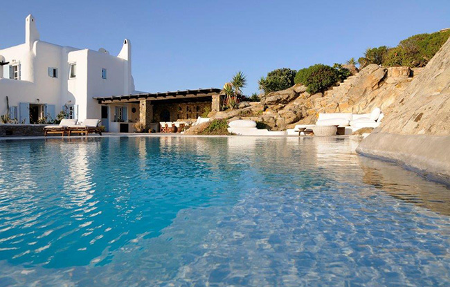 Villa Agatha - Mykonos - Enjoy private pools and great views.