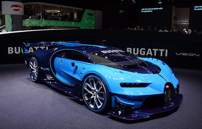 Bugatti Vision Grand Turismo luxury supercar - Armstrong-Bugatti
