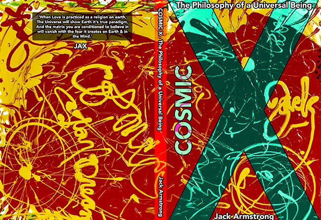 COSMIC X Book Cover- Jack Armstrong