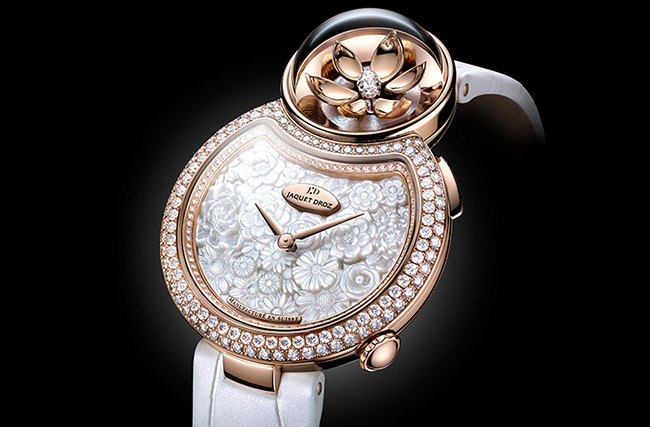 Jaquet Droz - Lady 8 Flower lady watch