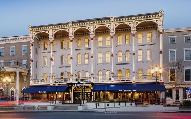 The Adelphi Hotel - Saratoga Springs, New York