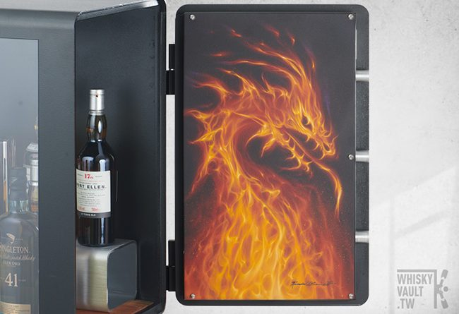Whisky Vault - Firedragon whisky cabinet