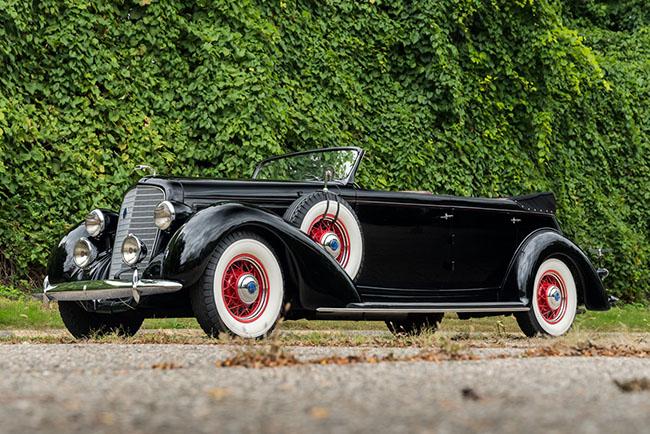 1932 Lincoln Model K Convertible Sedan