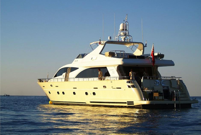 M/Y X-ONE FALCON 90 luxury yacht