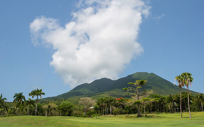 Paradise Beach Nevis - Caribbean Islands