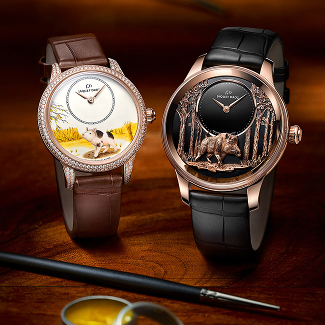 Jaquet Droz - Chinese Zodiac luxury watch collection