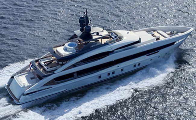 Heesen Aquamarine luxury yacht