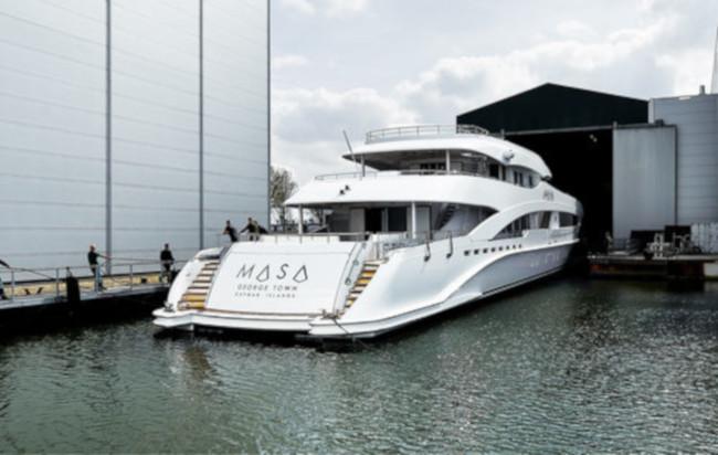 Heesen luxury yacht - Masa