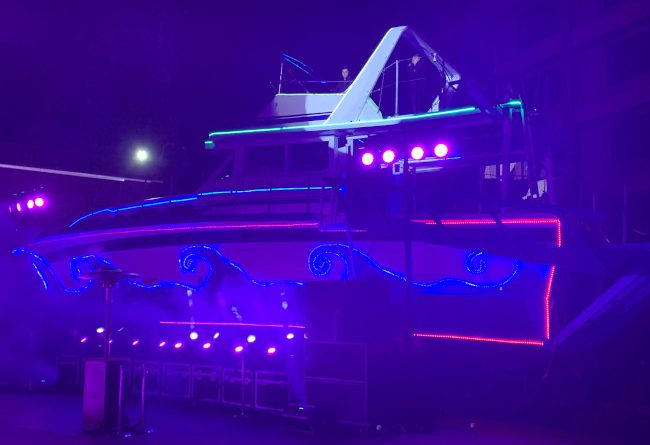 Christina art car yacht - Hard Rock Hotel & Casino Lake Tahoe