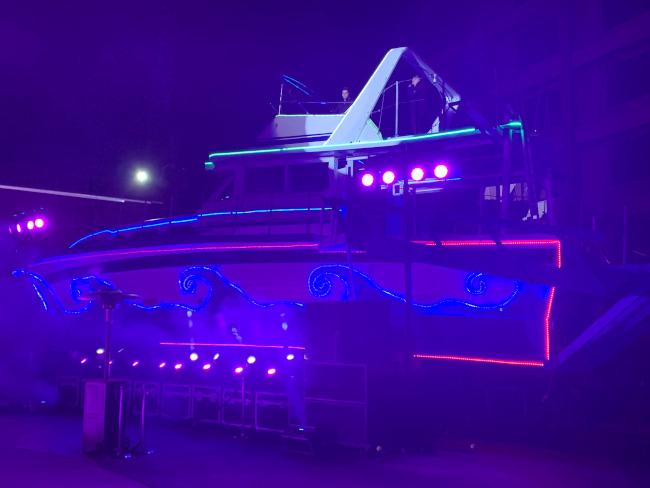 Christina art car yacht - Hard Rock Hotel & Casino Lake Tahoe