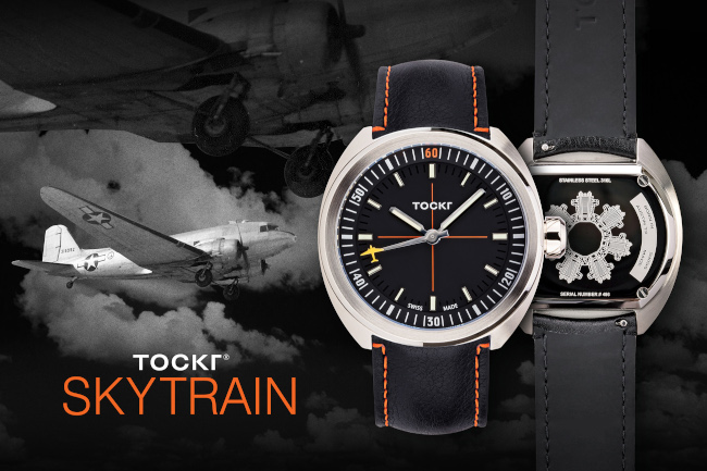 Tockr Skytrain luxury watch collection