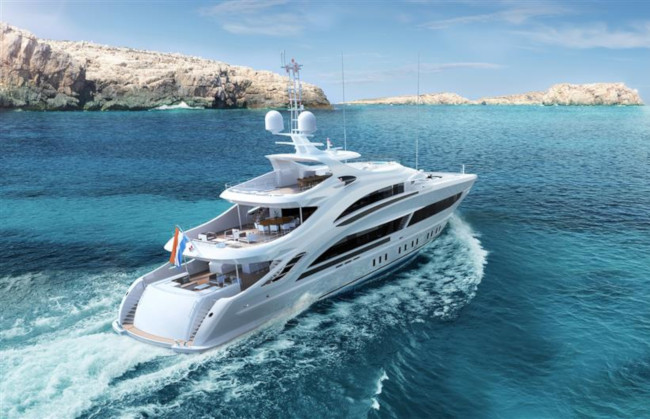 Four Amazing Luxury Yachts from Heesen Yachts - Triton superyacht