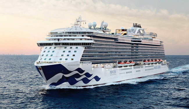 Princess Cruises Sky Princess cruise ship