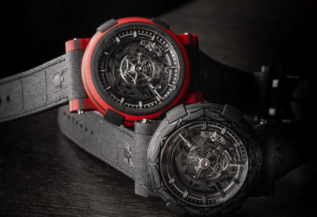 ARRAW Spider-Man Limited-Edition Timepieces by Swiss watchmaker RJ