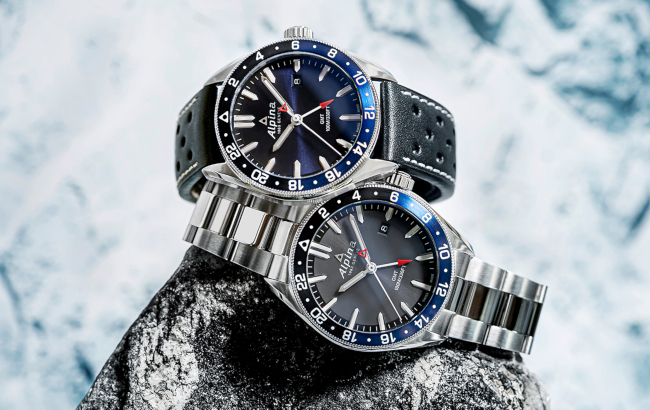 New Alpiner Quartz GMT luxury sports watch models from Alpina.