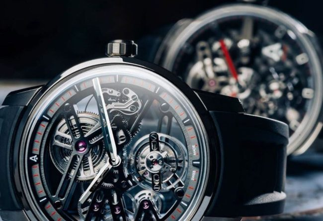 Angelus tourbillon luxury watch collection