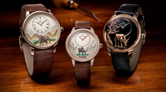 Jaquet Droz - Petite Heure Minute Buffalo watch collection